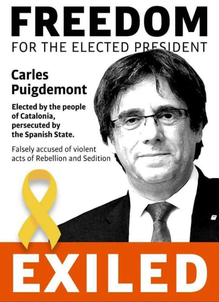 Puigdemont Exiled