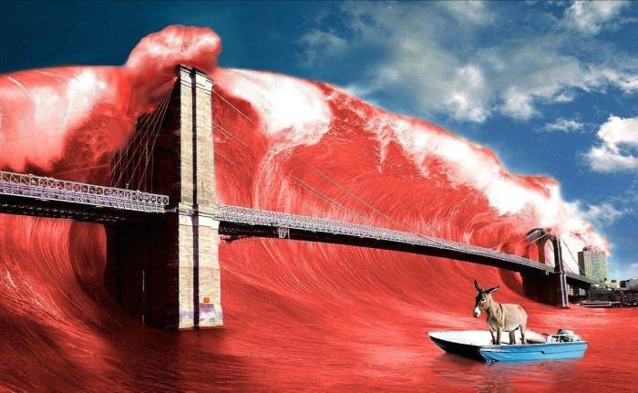 Midterm 2018 red wave