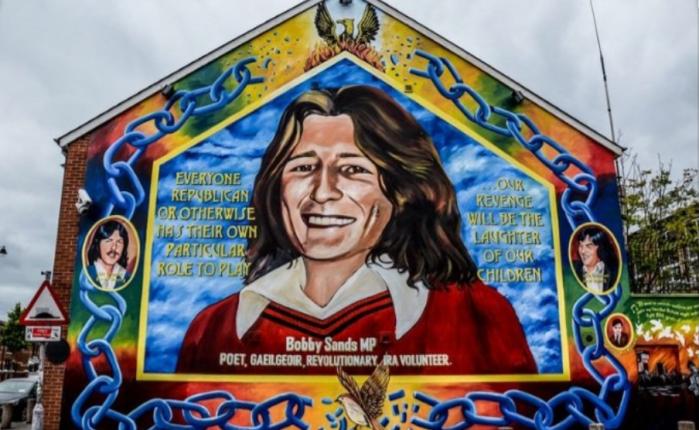 Bobby Sands: la forza dei suoi ideali l'hanno resoimmortale
